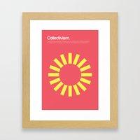 Collectivism Framed Art Print
