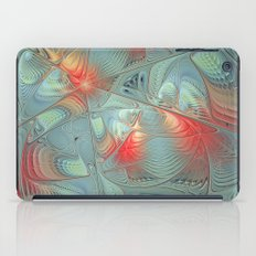 String Theory Fractal Art iPad Case