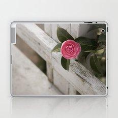Pink Porch Flower Laptop & iPad Skin
