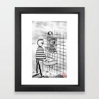 Depersonalization Framed Art Print