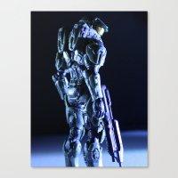 Profilin' Canvas Print