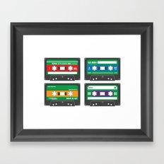 Teenage Mutant Ninja Mix… Framed Art Print