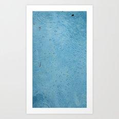 Breath Underwater Art Print