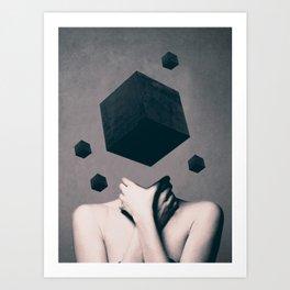 Art Print - Think Outside The Box  - dada22