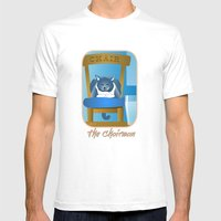 Jackson : The Chairman 2 Mens Fitted Tee White SMALL