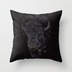 Bison / Buffalo Throw Pillow