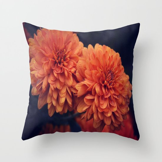 If A Flower Was The Sun Throw Pillow