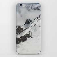 Clouds Shrouding Mont Bl… iPhone & iPod Skin