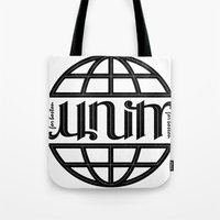 Unity Ambigram For Bosto… Tote Bag