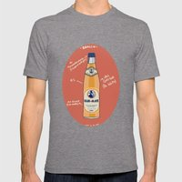 Club-Mate Mens Fitted Tee Tri-Grey SMALL