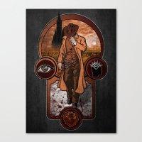 The Gunslinger's Creed. Canvas Print
