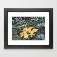 ian leaf Framed Art Print
