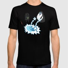 Adventure Wars (Coloured) Black SMALL Mens Fitted Tee