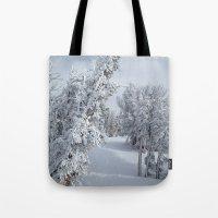 Snow Tote Bag