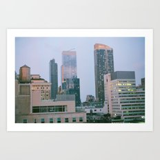 Middle of Midtown Art Print