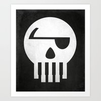 Music Piracy Art Print