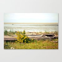 See The Horizon Break Canvas Print