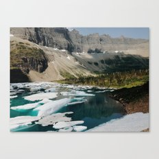 Iceberg Lake, Glacier National Park Canvas Print