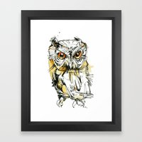 Little Screech Framed Art Print