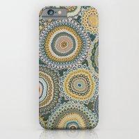Boho Patchwork-Mineral Colors iPhone 6 Slim Case