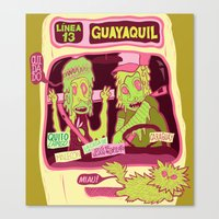 Locals Only : Guayaquil Canvas Print