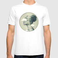 Geo Dress Mens Fitted Tee White SMALL