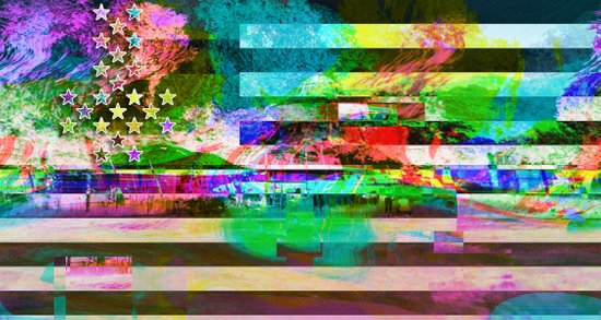 Homeland (collaboration w/ Matt Gilles) Art Print