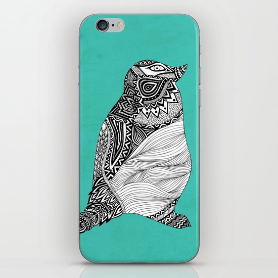 Tribal Penguin iPhone & iPod Skin