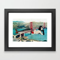 Mermaid Three Framed Art Print