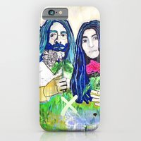 iPhone & iPod Case featuring Peace and Love by Paola Gonzalez