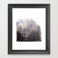 Snow In Early Fall(1)  Framed Art Print