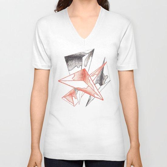 CRAYON LOVE: Monarchs V-neck T-shirt