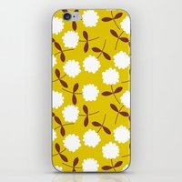 Daisy Mustard iPhone & iPod Skin