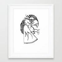 A kind of parrot Framed Art Print
