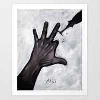 wakeupwakeupwakeup Art Print