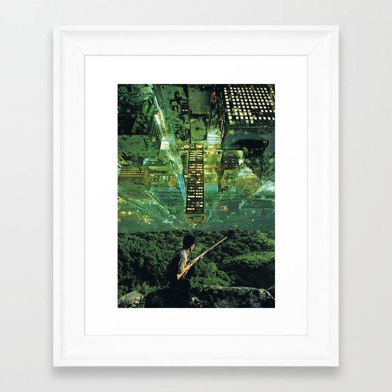The Invasion Framed Art Print