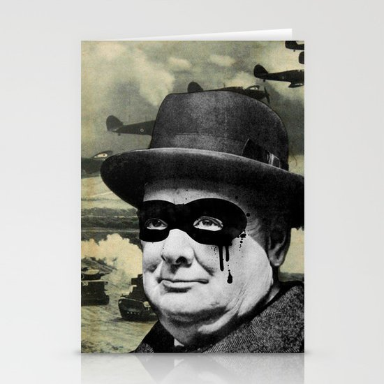 Churchill Stationery Card