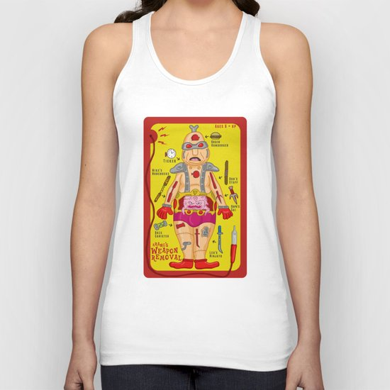 Krang's Weapon Removal Unisex Tank Top