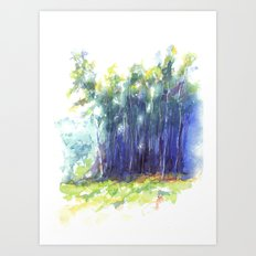 Scenes from the Forest III Art Print