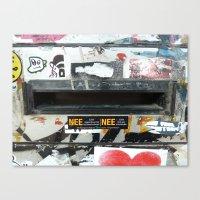 Urban Abstract 8 Canvas Print