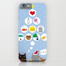 Santa Cat iPhone 6s Slim Case
