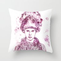 Levi Miller vs Ted Tuesday Throw Pillow