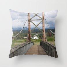 Tolt McDonald Bridge Throw Pillow