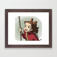 Arrietty Framed Art Print