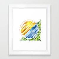 The World Awakens Framed Art Print