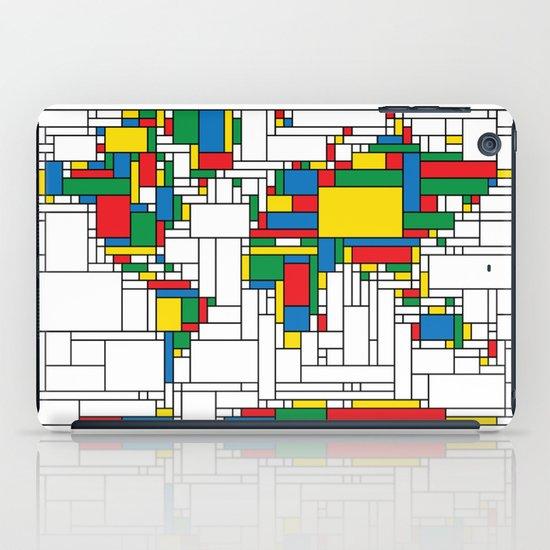 Modern World Map iPad Case