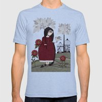 Winterbird, Or Hope Is A… Mens Fitted Tee Tri-Blue SMALL