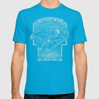 Kessel Run Mens Fitted Tee Teal SMALL