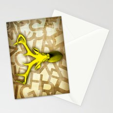 daffodil stag Stationery Cards