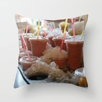 Drink it - Summer is Coming Throw Pillow
